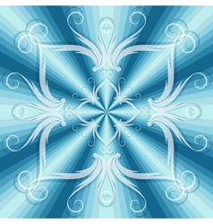 christmas blue seamless vector image vector image
