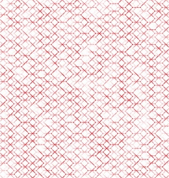 Unusual abstract stars texture geometric red vector image vector image