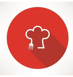 cook icon vector image vector image