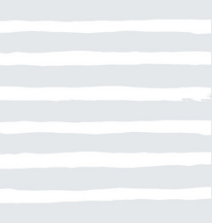 watercolor white stripes background on gray vector image