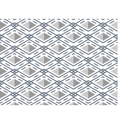Abstract blue stripe line pattern square vector