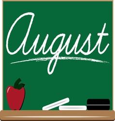 August Board vector