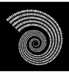 Binary Code Background Numbers Concept vector
