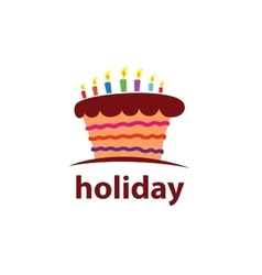 Logo holiday vector