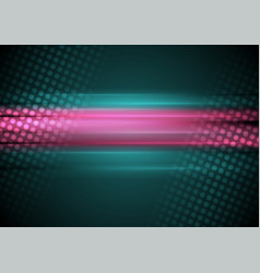 Pink and cyan abstract shiny background vector