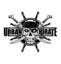 pirat 2021 0007 vector image