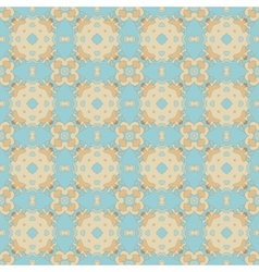 Seamless Colorful Retro Pattern Background vector image