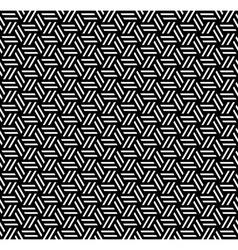 Seamless geometric op art texture vector image