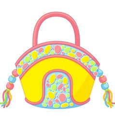summer handbag vector image