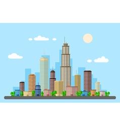 Urban landscape 2 vector