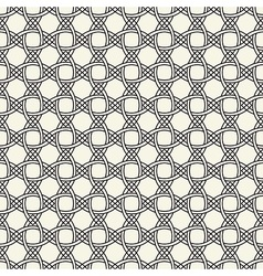 Weaving black-and-white pattern vector