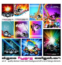 abstract music backgrounds vector image vector image
