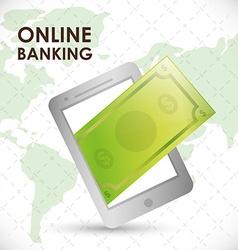 Money bank design vector image vector image