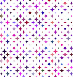 Multicolored star background - vector image