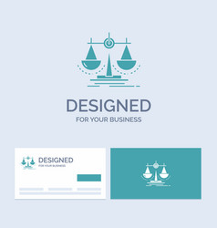 Balance decision justice law scale business logo vector
