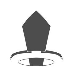 Catholic hat vector