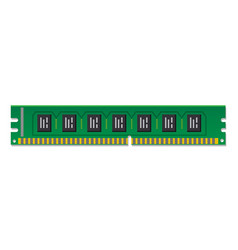 Ram memory module vector
