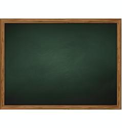 school chalkboard background vector image