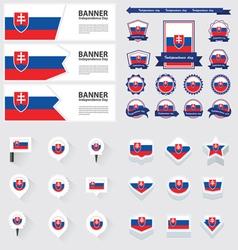 SET Slovakia vector