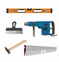 Tools for construction and repair vector
