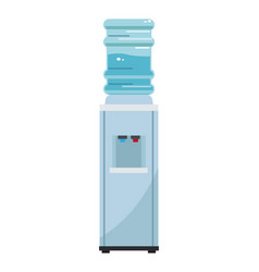 water dispenser machine vector image