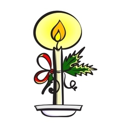 CandleVec vector image vector image