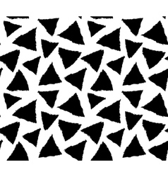 inky triangles vector image