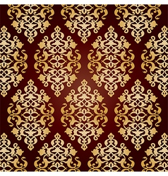Antique ottoman turkish pattern design fourty nine vector