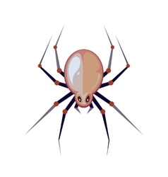 Illuastration of big spider vector