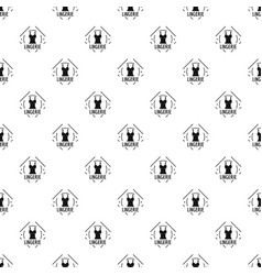 lingerie pattern seamless vector image