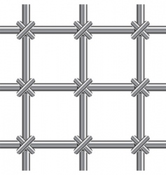 metallic bars vector image vector image