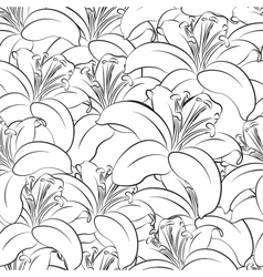 seamless floral background clip art vector image