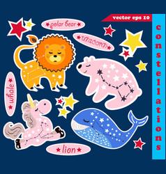 Set of constellations vector