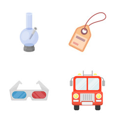 transport business achievements and other web vector image