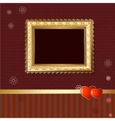 wallpaper retro vector image