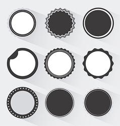 sun faces design vector image vector image