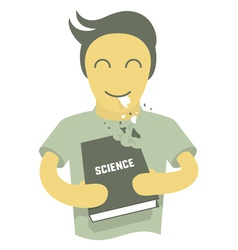 Science is delicious vector image