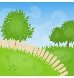 Cartoon background vector image