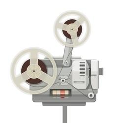 Vintage retro cinema vector image vector image