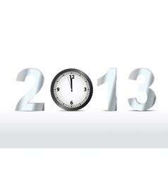 2013 countdown vector image