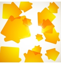 Abstract background house vector