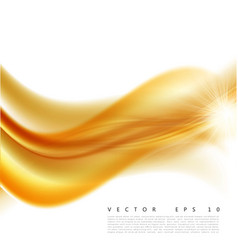 an abstract orange wavy vector image