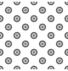 Camera aperture pattern simple style vector