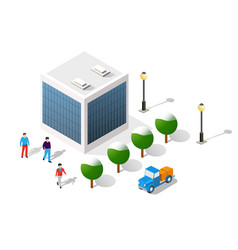 city on white design stock vector image