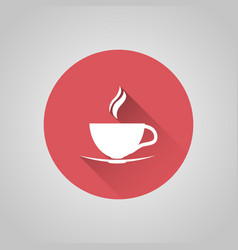 cup coffee icon vector image