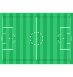 Football soccer field vector image