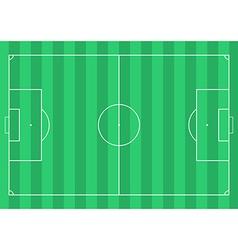 Football soccer field vector