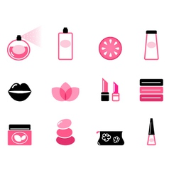 luxury cosmetic vector image