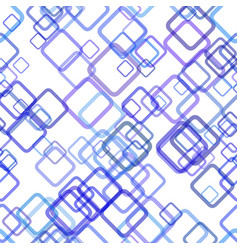 Repeating geometric square background pattern vector