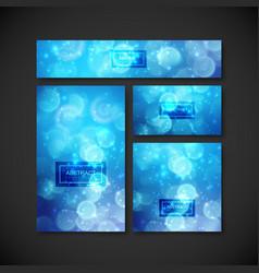 set design elements for design vector image